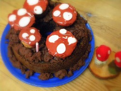 Simple Toadstool Birthday Party
