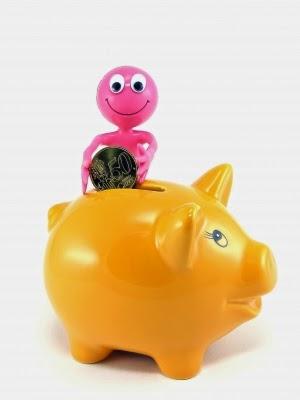 Sparschwein: Sparen für die Urlaubskasse