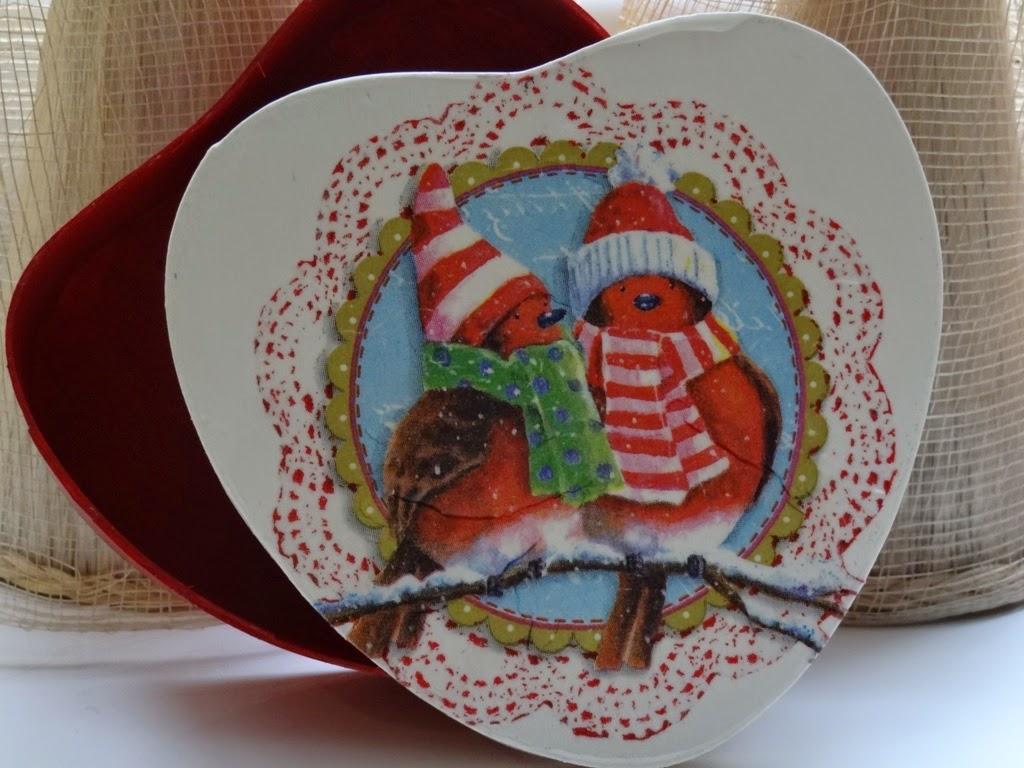 pudełko na świąteczny prezent, Boże Narodzenie, na świąteczne drobiazgi