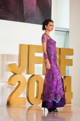 Batik Ungu di JFFF-2014