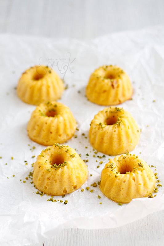 Almond Corner: Orange-cardamom scented mini bundt cakes ...
