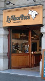La Vaca Paca buffet Barcelona Passeig de Gràcia