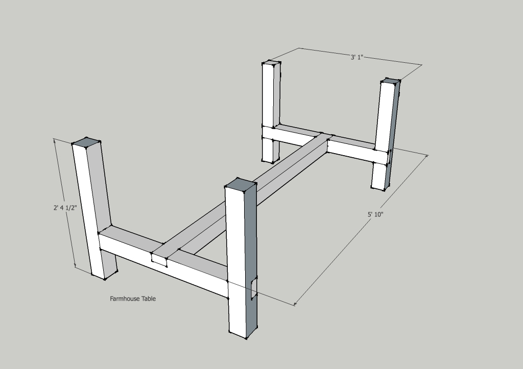 Fabulous A Frame Farm Table Legs 1024 x 723 · 90 kB · jpeg