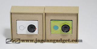 Kamera Xiao Yi tersedia dalam dua warna putih dan kuning