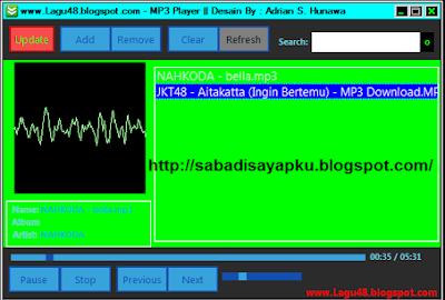 Download MP3 Player Mirip Winamp