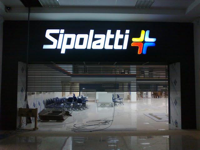 Nova fachada Sipolatti - Cachoeiro do Itapemirim