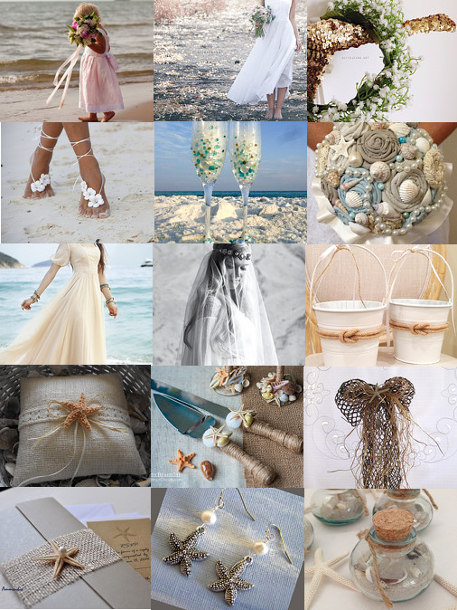 beach weddings Etsy shops