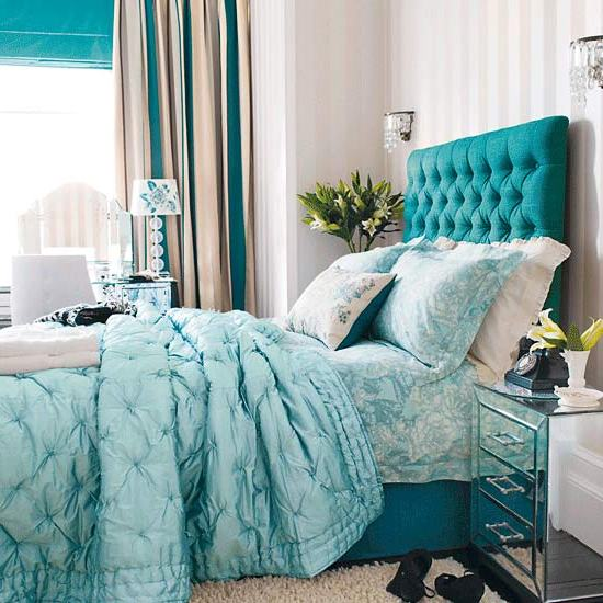 Bedroom ideas teal for Bedroom ideas with teal walls
