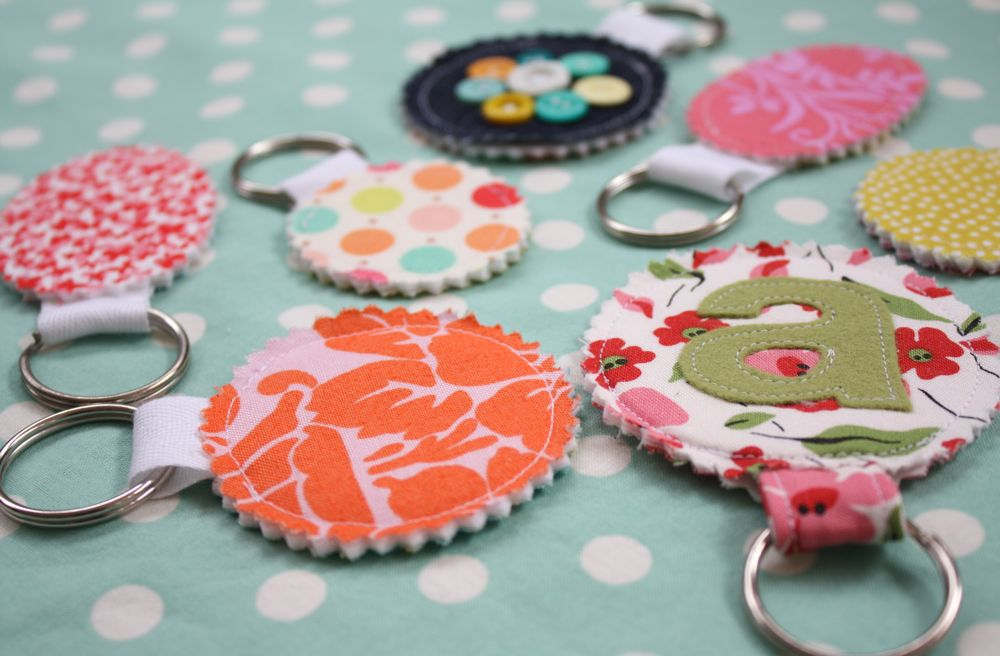 Scrap Your Stash Guest Post Fabric Scrap Key Chain Tutorial