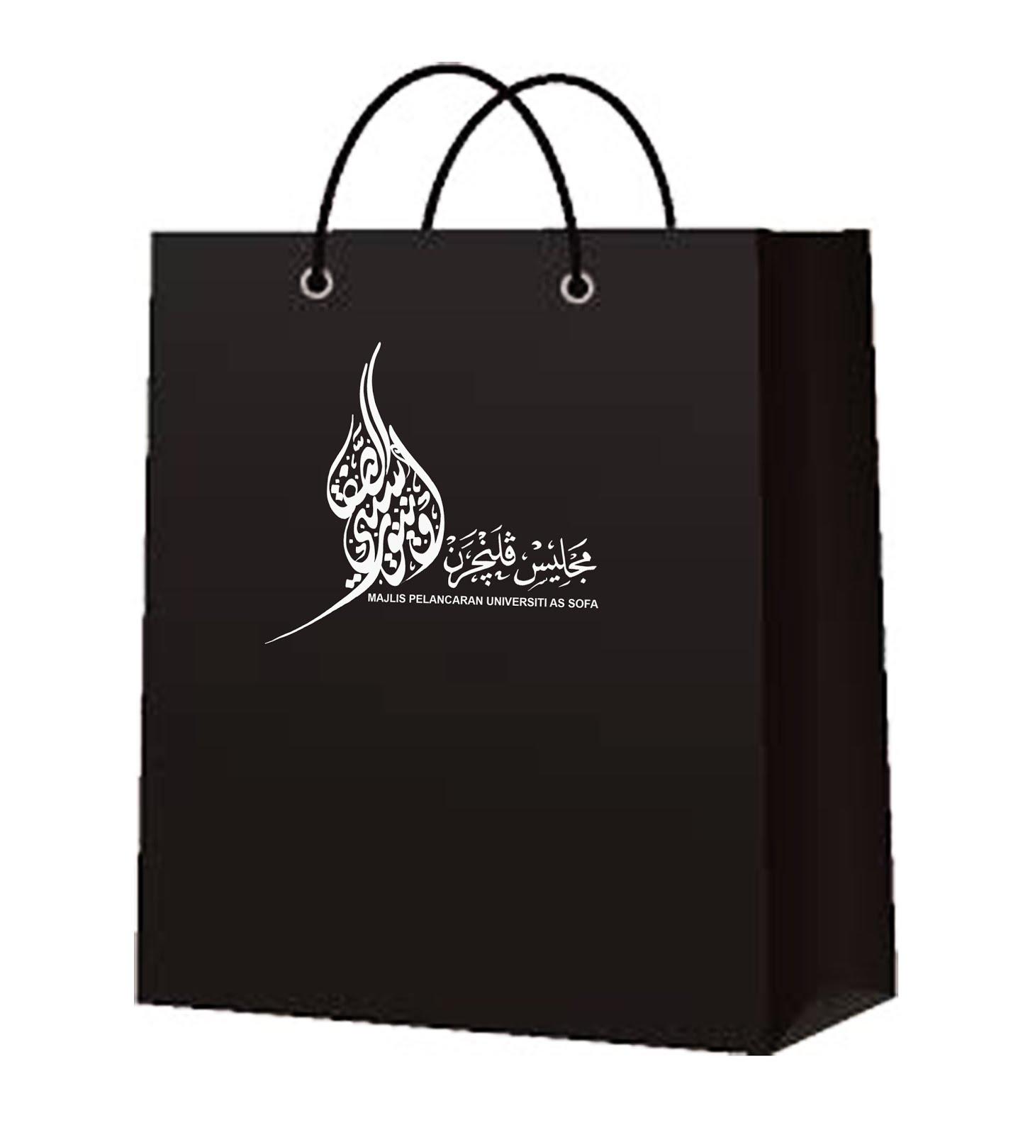 paper bag Kaligrafi