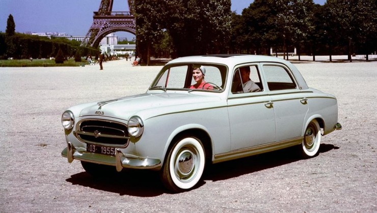 all about cars: Peugeot Car Production By Model : 1945-59