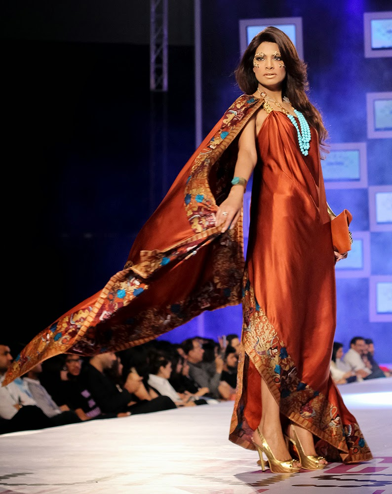 Shehla Chatoor PFDC Sunsilk Fashion Week 2014 - Samsara Collection