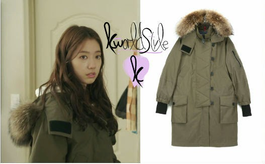 K-world Style (K-pop & K-Drama Fashion): Park Shin Hye's Parka