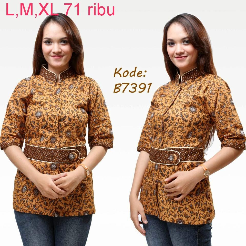 Model Baju Batik Kantor   Model Baju Batik