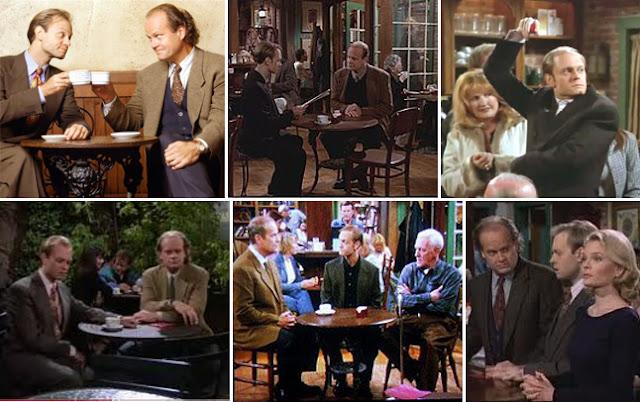 Cafetería de la serie Frasier, spin-off de Cheers