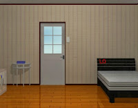 white door room escape walkthrough