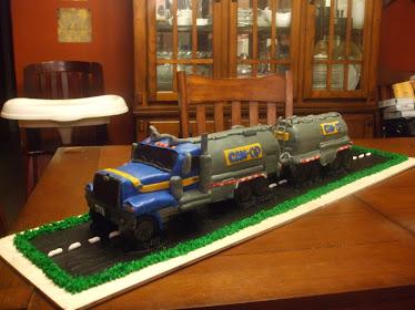 Can Opp Truck Cake