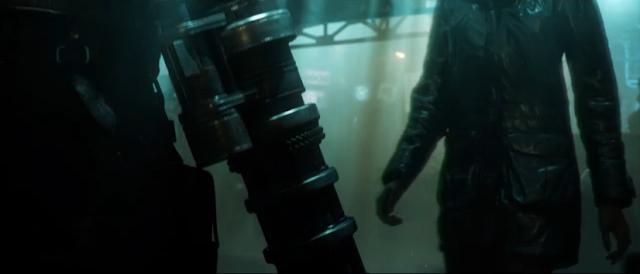 Barret Wallace Final Fantasy VII remake 7 gun machine arm HD PS4