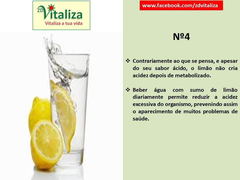 reduzir acidez limão