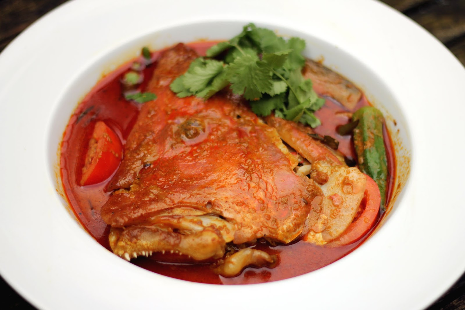 Feast To The World Face Off Singapore Nyonya Fish Head Curry Asam Gelugur 1 Kg Friday 29 March 2013