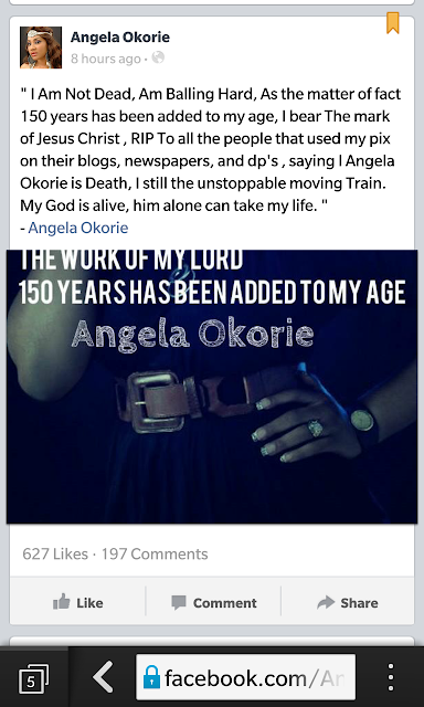 Ijeoma Okorie Is Dead or Alive?