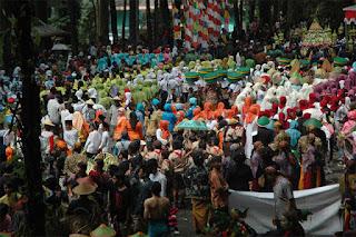 Wisata Budaya Grebeg Syura di Baturaden