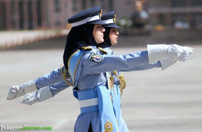 Pakistani women in air force