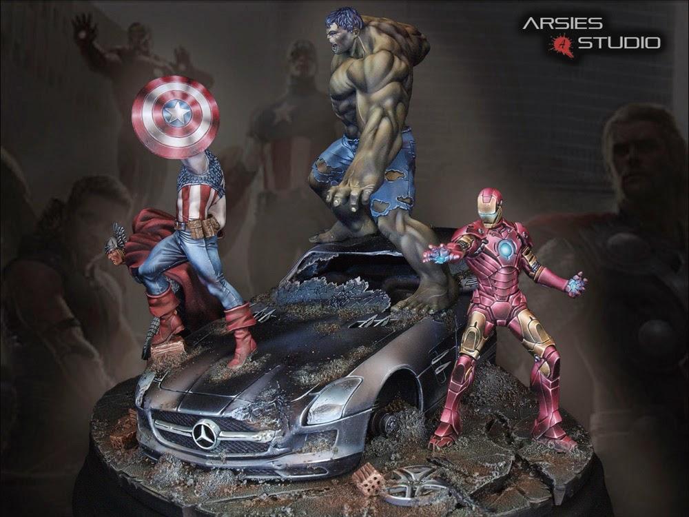 Avengers! final pics