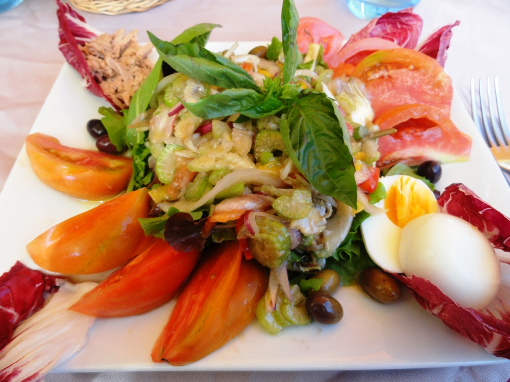 blu aubergine: escapes: nice, cuisine nicoise, and the cote d'azur