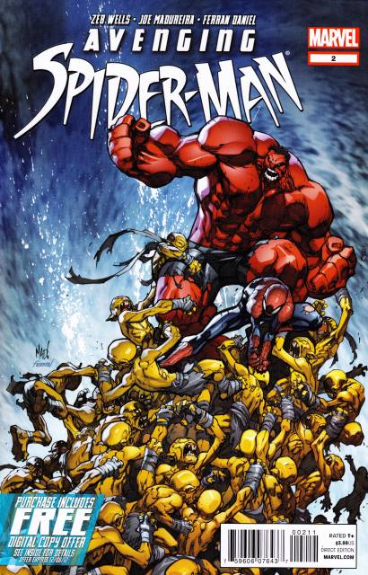 AVENGING SPIDER-MAN #2 JOE MADUREIRA