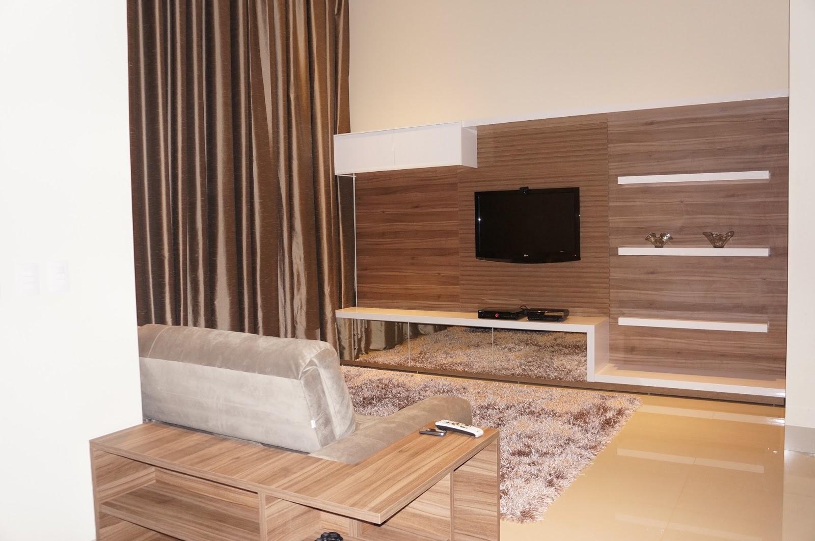 Construindo um Castelinho: Home planejado em sala de pé direito duplo #90633B 1600x1062