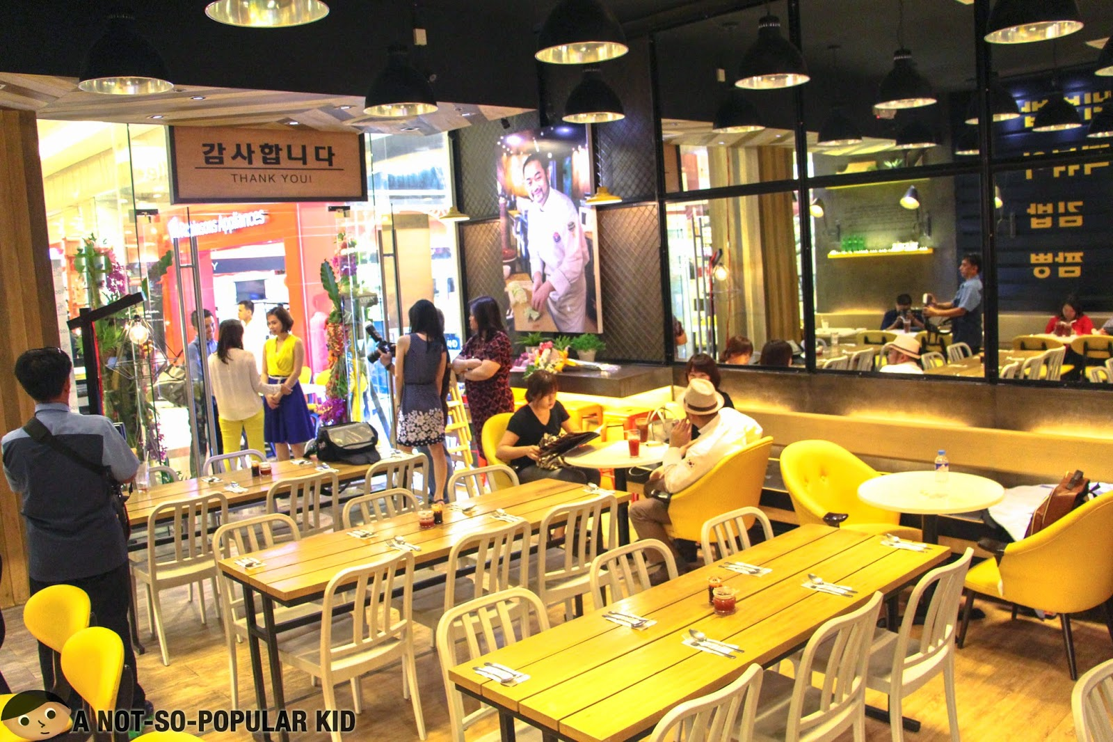 The cozy interior of Chef's Noodle in Robinsons Magnolia