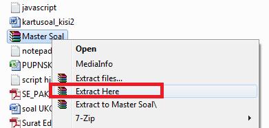 gambar buka file master soal