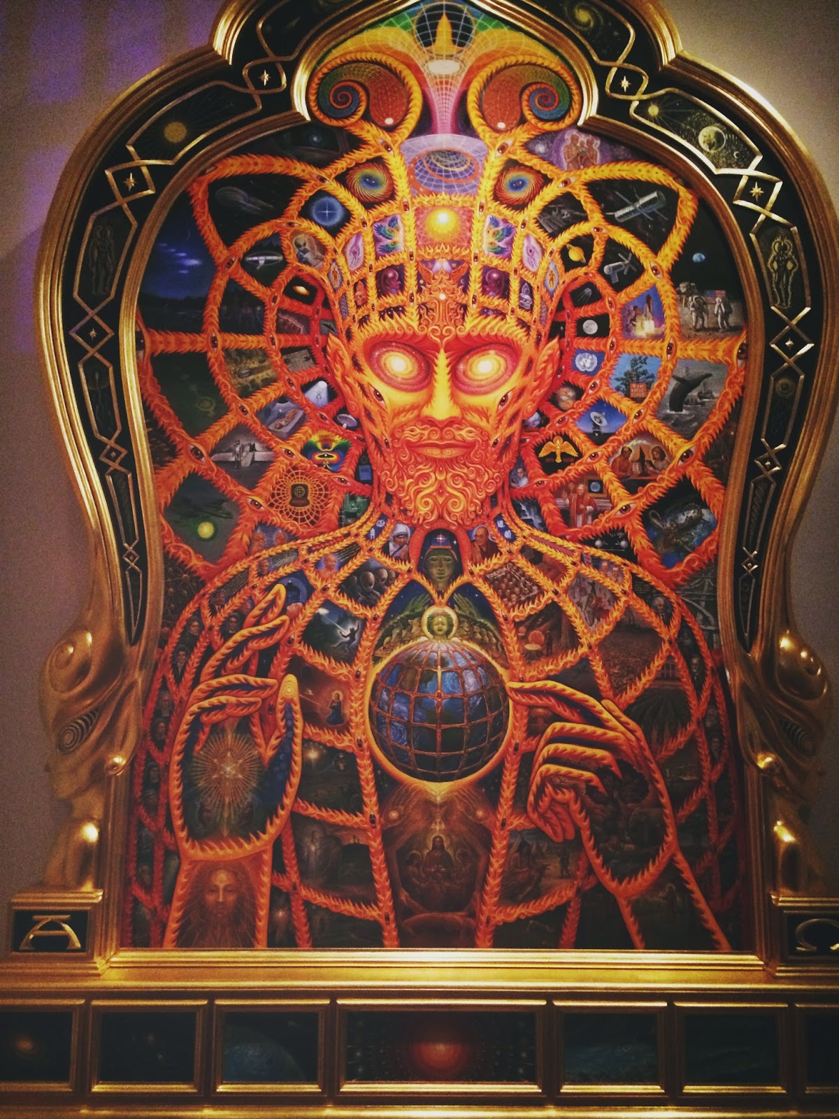 Religious Things Of New York Quot Cosmic Christ Quot Alex Grey