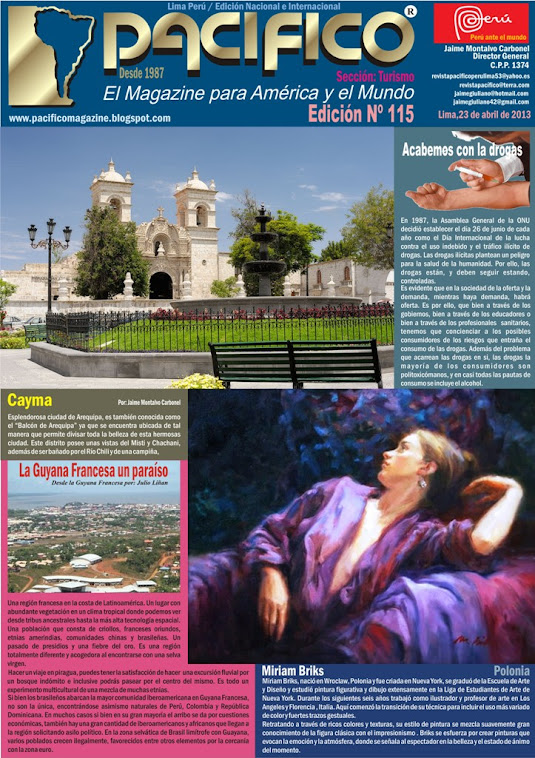 Revista Pacífico Nº 115 Turismo