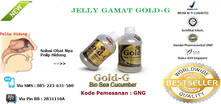 Produk Obat Herbal Jelly Gamat Gold G