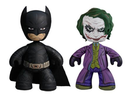The Dark Knight 6 Inch Mez-Itz Series 1 by Mezco Toyz - Batman & The Joker Vinyl Figures