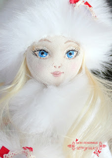 текстильная кукла, мои любимые игрушки, cloth doll, my lovely toys