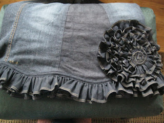 Ruffle Rose maternity skirt
