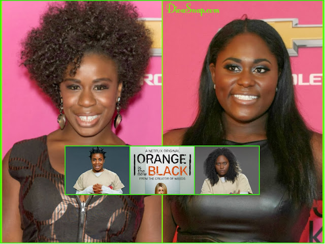 "RECAP: THE REAL""CRAZY EYES & TAYSTEE FROM NETFLIX SERIES ""Orange Is The New Black"" - DivaSnap.com"