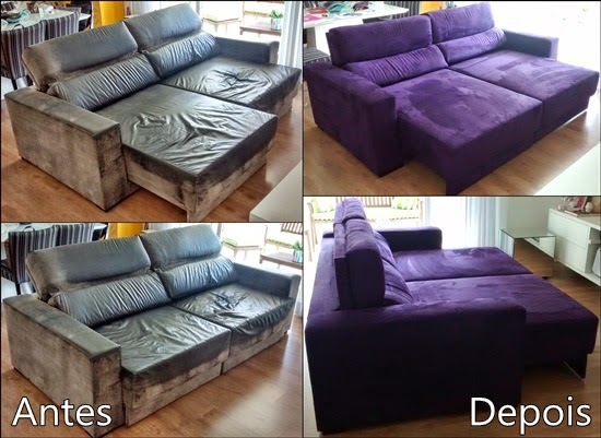manta para sofa retratil roxo