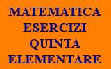 ESERCIZI DI MATEMATICA 5 ELEMENTARE ONLINE