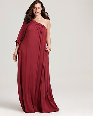 plus size #fashion red dress lovely woman