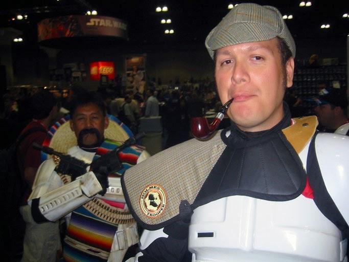 Sherlock Holmes meets Star Wars