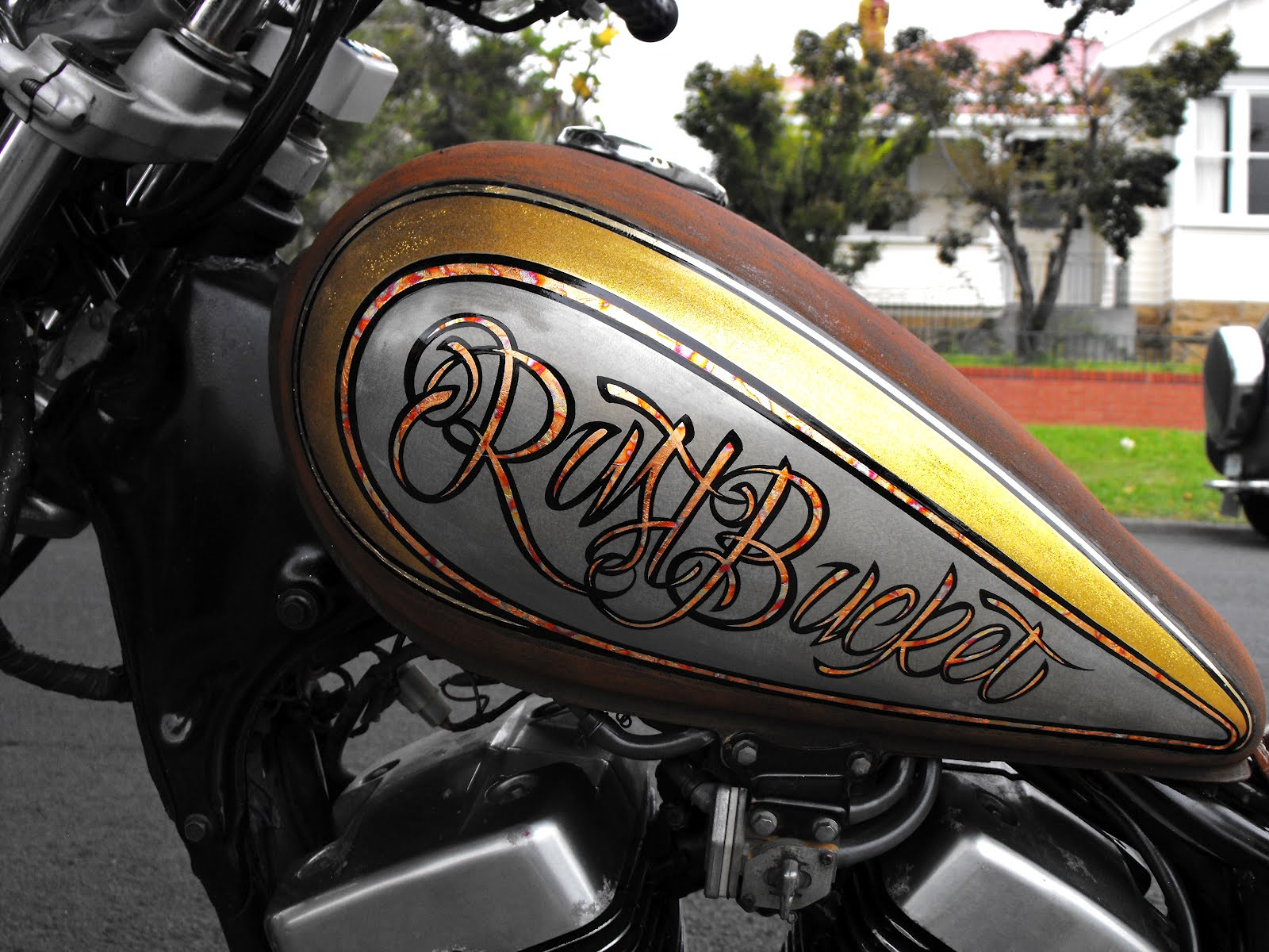 Motorcycle Exhaust Rust Treatment
