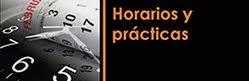 HORARIOS Y PRACTICAS