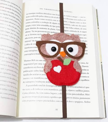 Felt Owl Bookmark - Feltro Facil