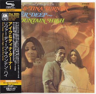 IKE & TINA TURNER - RIVER DEEP MOUNTAIN HIGH (A&M 1966) Jap mastering cardboard sleeve