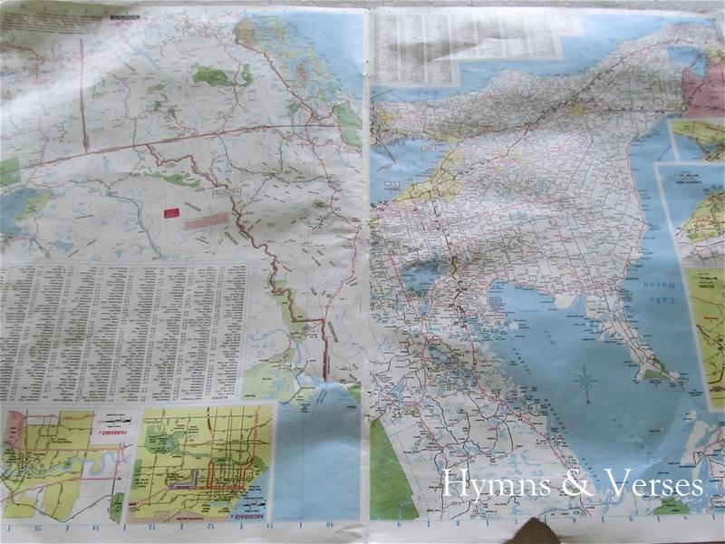 map nautical theme book cover
