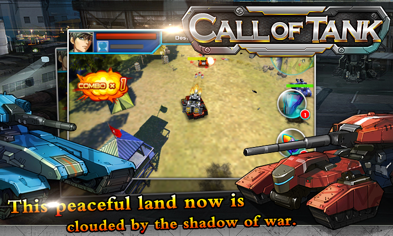 Call of Tank Gameplay Android